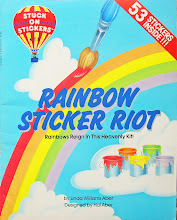 Stuck On Stickers Rainbow Sticker Riot