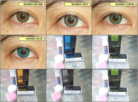 softlens BC Berries (Be Seen Berries dari Omega) - 60% Water Content