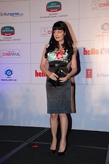 Celina Jaitley for the comedy movie Hello Darling music launch party