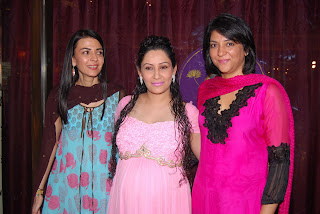 Namrata Maanyata Priya Dutt (L to R)