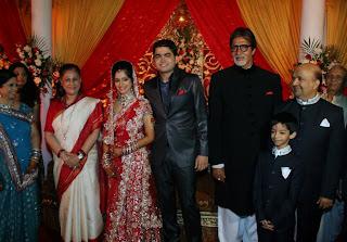 Anita, Jaya, Sanchita, Abhishek, Amitabh & Sameer