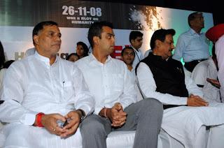 Kripa Shankar Singh with Chief Mnister Prithviraj Chauhan