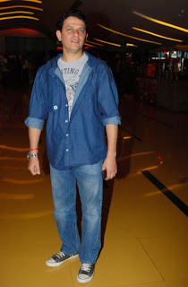 Kabir Sadanand too was spotted at the premier of horror film Kaalo