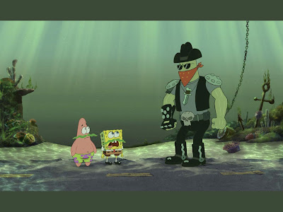 spongebob wallpaper. Spongebob, patrick and a