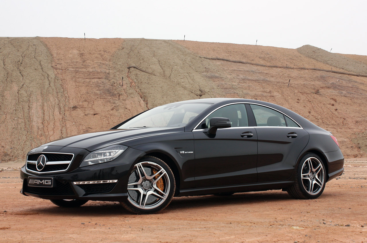 Fly Maybach Mercedes Benz Cls63 Amg 2012