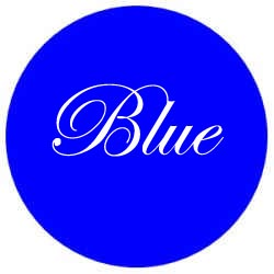 BLUE Colour Meaning.