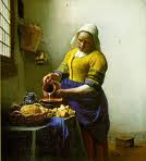 Milk Maid, de Jan Vermeer