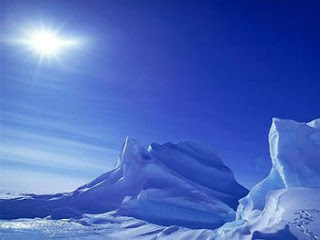antarctica sceneries winter