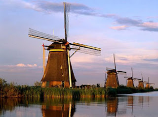 beautiful sceneries holland