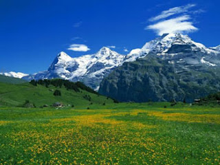 natural mountain sceneries