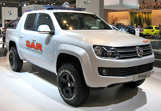 lifted truck Volkswagan