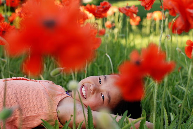 Julia Amongst the Poppies