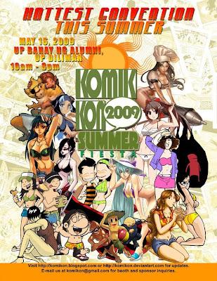 Komikon Summer Fiesta Teaser Poster