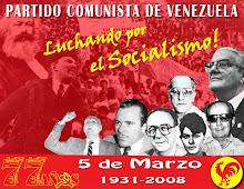 77 ANIVERSARIO DEL PARTIDO COMUNISTA DE VENEZUELA