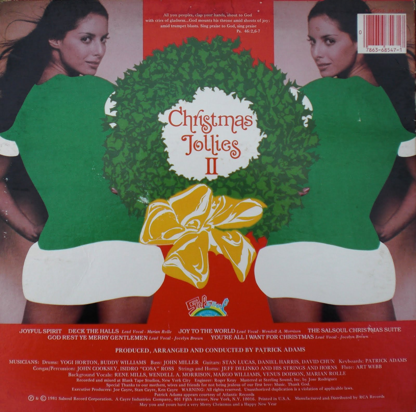 recordo obscura: the soundtrack of nobody's life: CHRISTMAS JOLLIES II