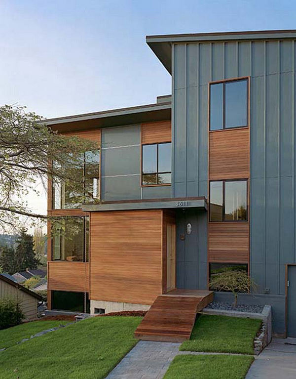 Modern split level home design architecture and interior - Modern split level house plans designs ...