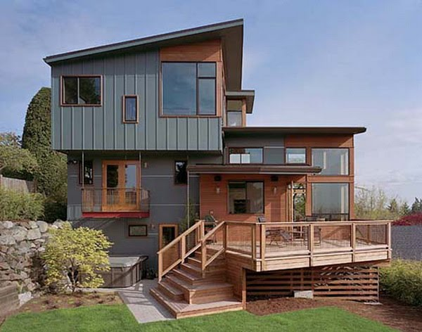 Modern split level home design architecture and interior decor homecod - Level a house decor ...