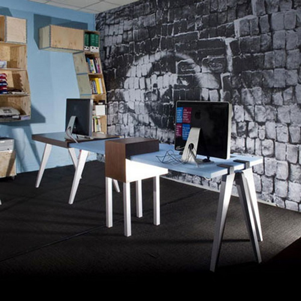 urban decor furniture. Urban Modern Office Interior Decor Furniture Clamp Desk Design Ideas
