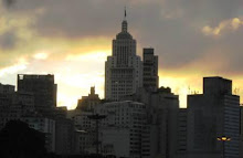 Sampa ao entardecer