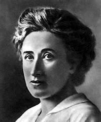 Rosa Luxemburgo. Presente. Viva o socialismo