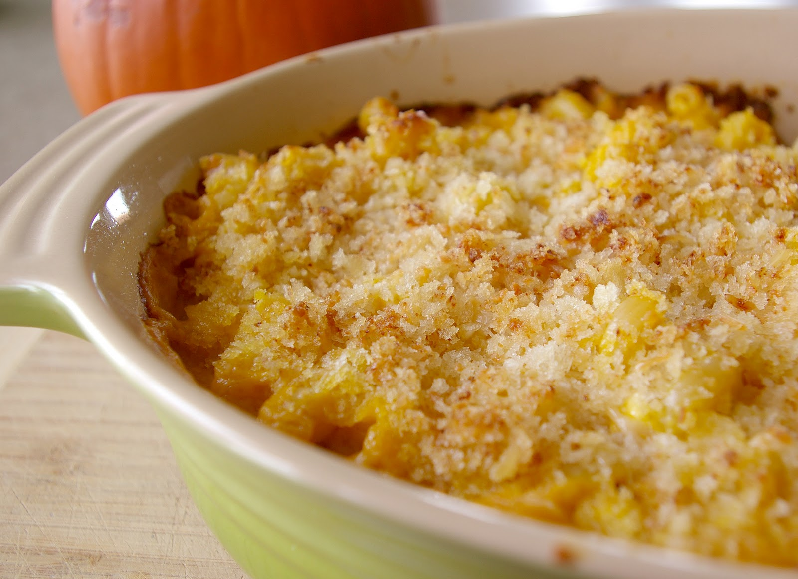 Pumpkin Macaroni and Cheese