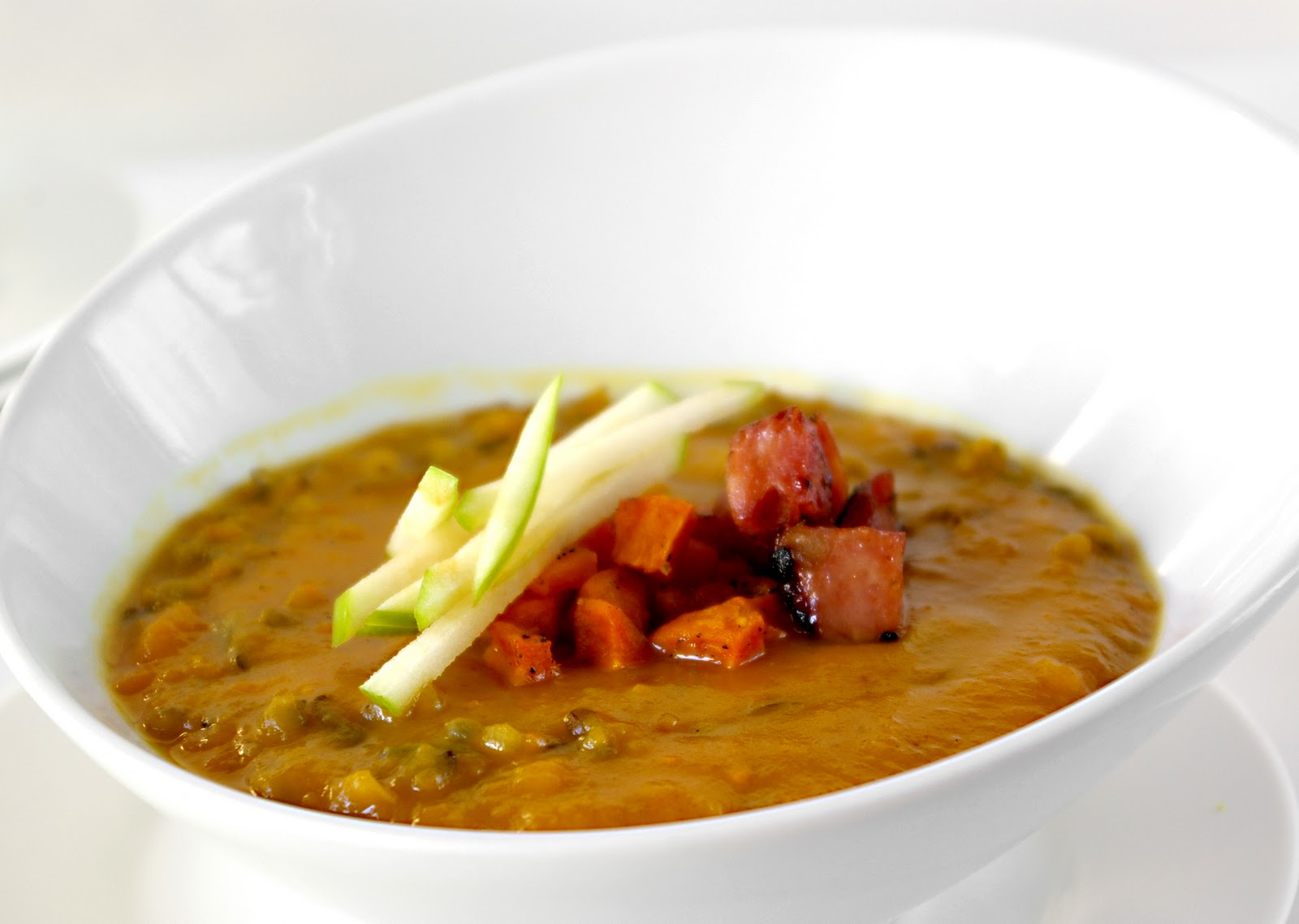 These Peas are Hollow: Curried Squash & Wild Rice Soup