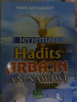 Hadis 40 Imam Nawawi (RM3)