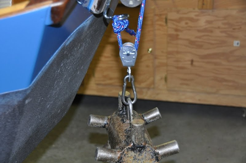Rope Pulley Anchor : Missouri river fly fishing journal