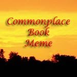 Commonplace Book Meme