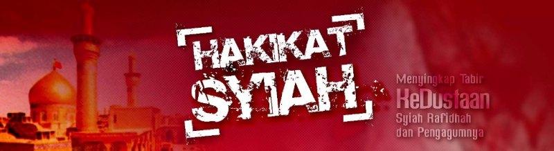 HAKIKAT SYIAH