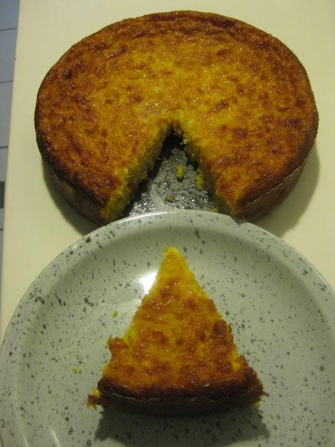 Mis recetas favoritas Torta de maz criolla