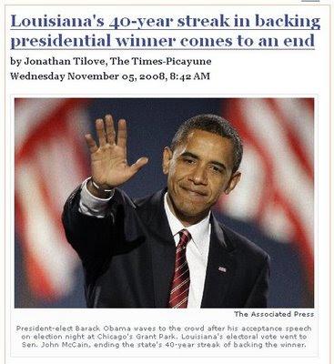 louisiana obama