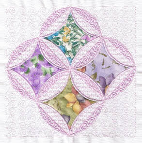 Free Cathedral Window Quilt Pattern - Ask Jeeves