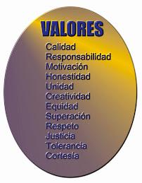 VALORES A SEGUIR