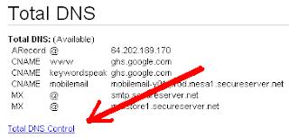 godaddy.com blogger.com custom domain