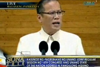 president noynoy aquinos sona report Benigno aquino iii, the former president, was wrong to say last month that the killings that have characterized the duterte administration's campaign against illegal drugs could not be called extrajudicial.
