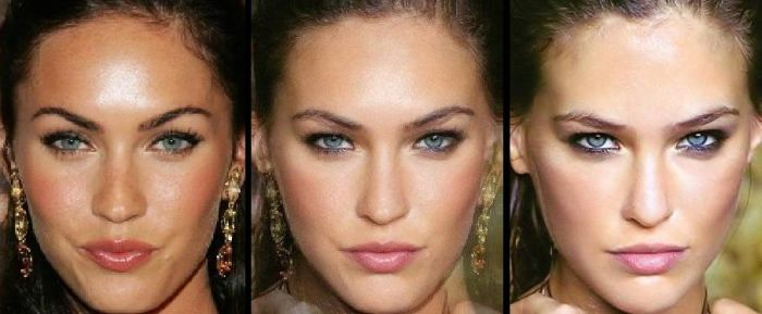Hot Face Morph Mashups of CelebritiesFunny Celebrity Face Morph