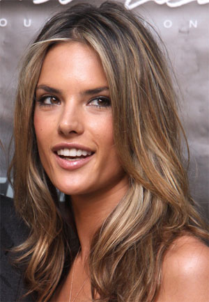 To create the honey brown hair color would involve combining the brown