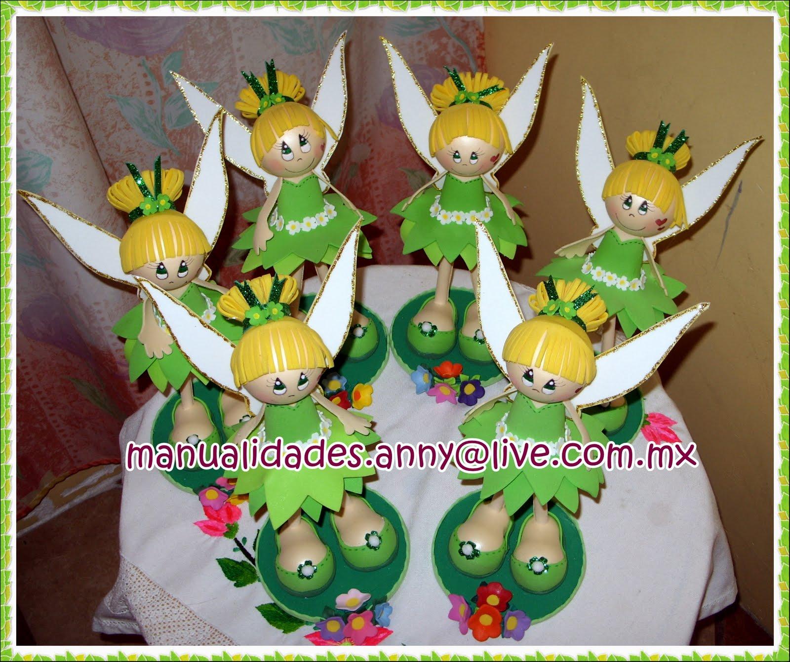 Desfile de fofuchas Campanitas (tinkerbell)