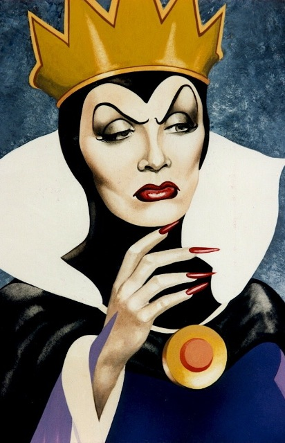THE WICKED QUEEN My original gouache artwork