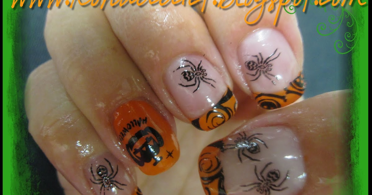 Konad Halloween Nail Art ~ Tuto nail art id?e pour halloween avec konad