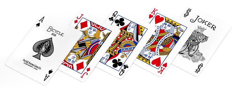 acey deucey cards