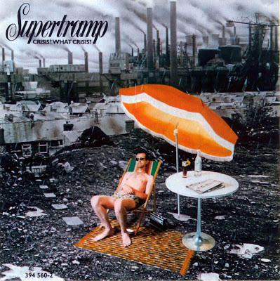 Portada del disco de Supertramp 'Crisis? What Crisis?'