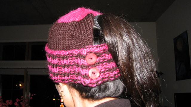 Free Ponytail Hat Pattern Hat With a Free Pattern