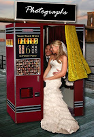 a vintage photo booth