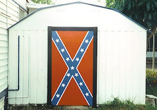 Rebel Flag Door