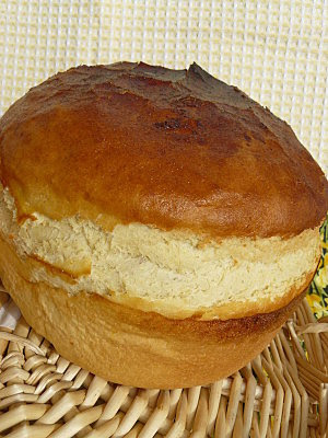 Pains briochés   Recettes de pain en image