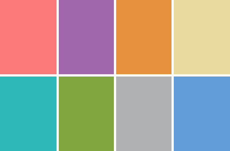 Jilly Jack Designs Spring Color Palette