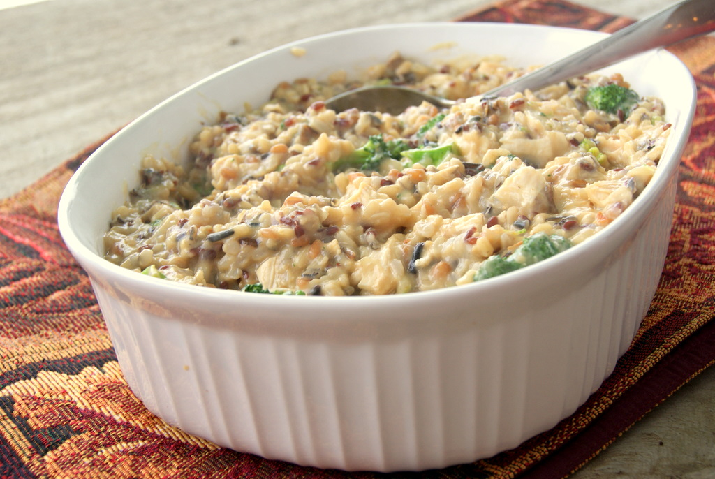 Alisa's Garden: Chicken Wild Rice Casserole | Easy Week Night Dinner