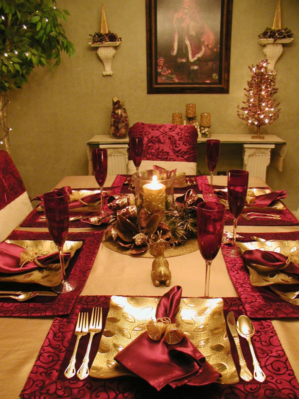 Holiday Table Settings Extraordinary Of Christmas Table Setting Ideas Pictures